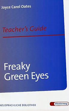 Freaky Green Eyes Teacher's Guide Cover